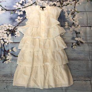 BCBGMaxAzria White cloud Dress